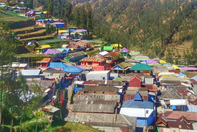 Kampung Kelir Tosari Bromo