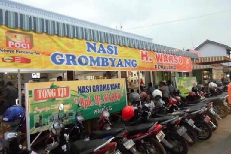 Warung Nasi Grombyang Haji Warso Pemalang