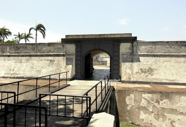 Fort Marlborough di Bengkulu