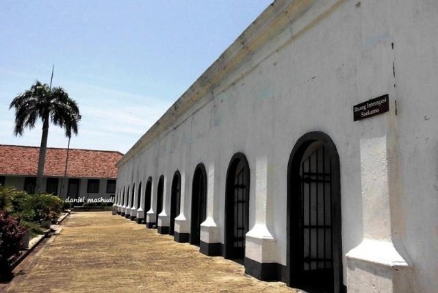 Ruang interogasi Bung Karno di Fort Marborough