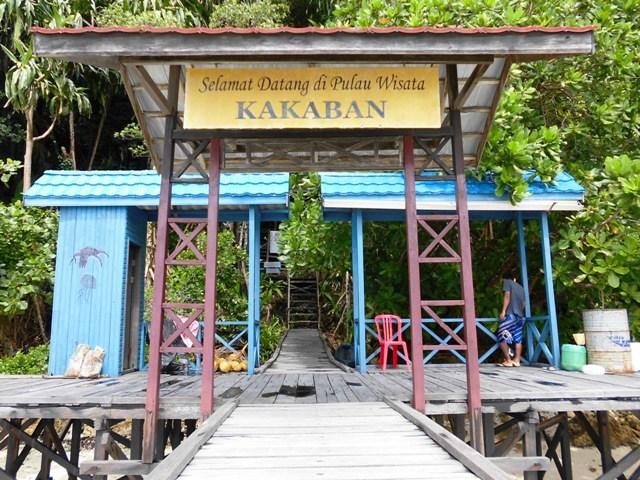 Danau Kakaban di Pulau Kakaban