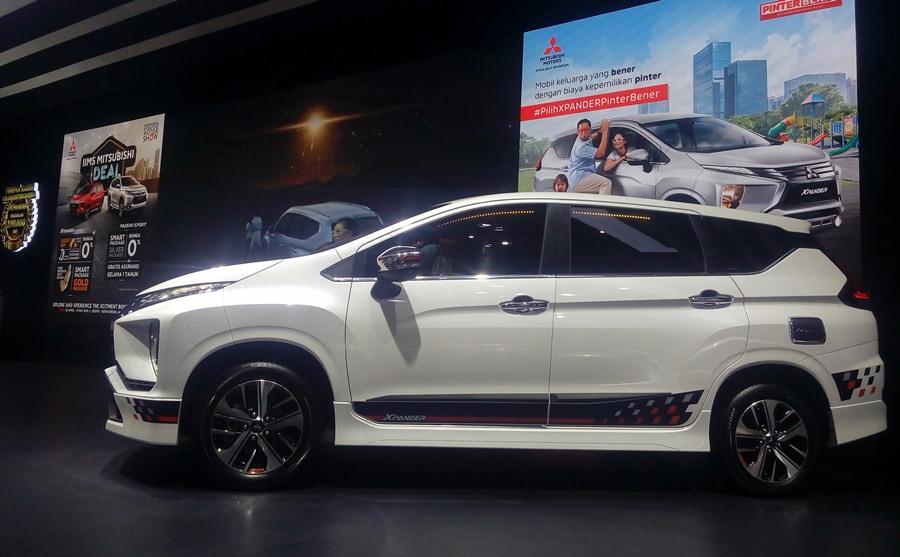 Mitsubishi Xpander di IIMS 2019