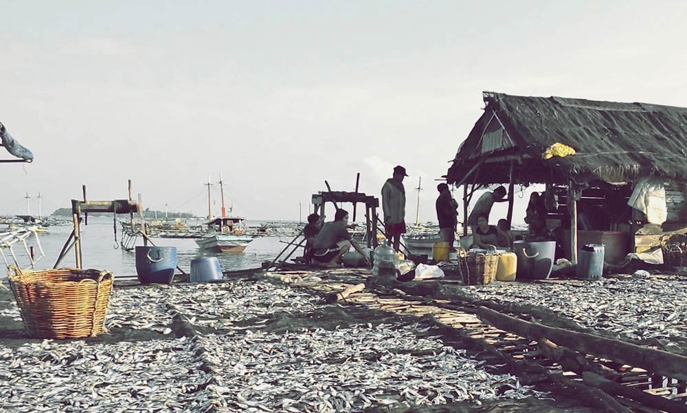 Aktivitas nelayan Tanjung Binga