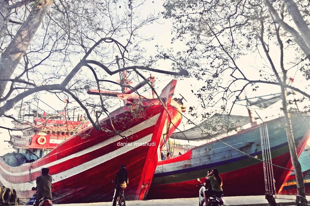Perahu di Sungai Juwana