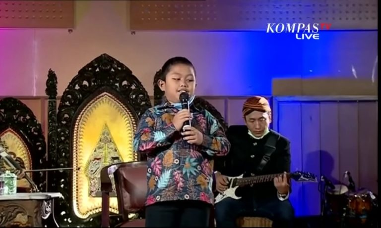 Arda di Konser Amal Didi Kempot, Kompas TV