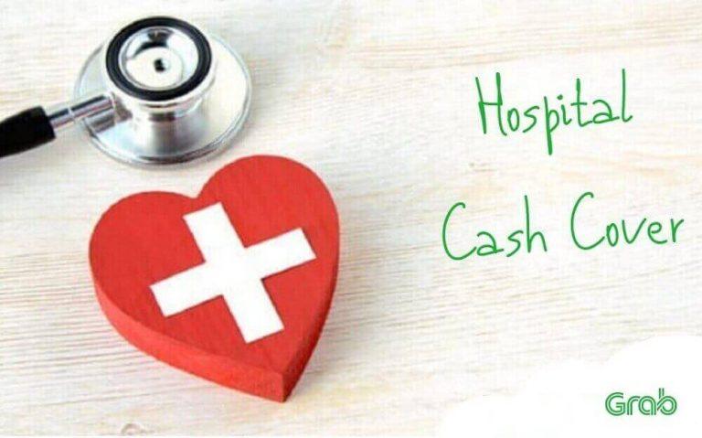 Asuransi Hospital Cash Cover di Grab