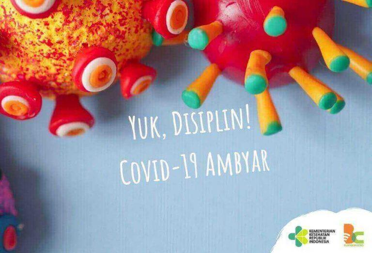 yuk disiplin covid-19 ambyar