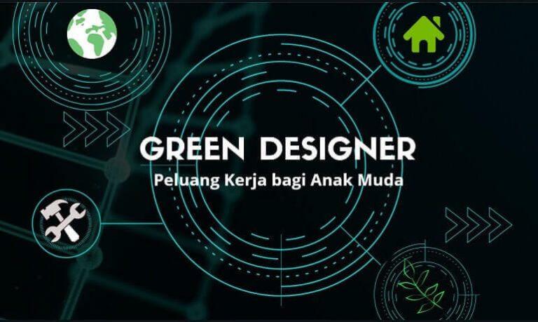 green designer peluang kerja anak muda